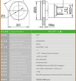 22mm 12v 24v dual color red green blue led indicator light metal waterproof ip67  [ 800 x 1080 Pixel ]