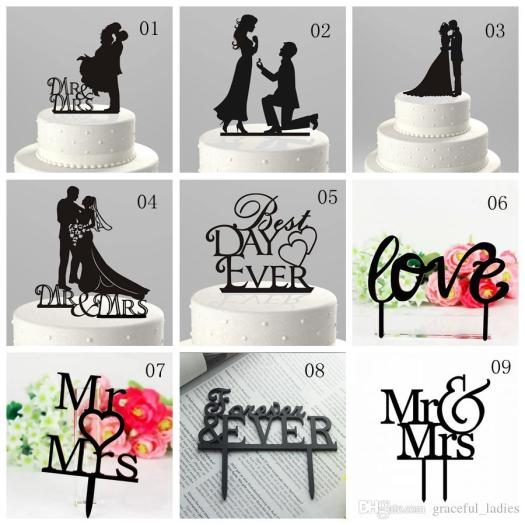 Cake decorations uk suppliers decoration for home mr mrs wedding cake topper uk whole decorations junglespirit Image collections