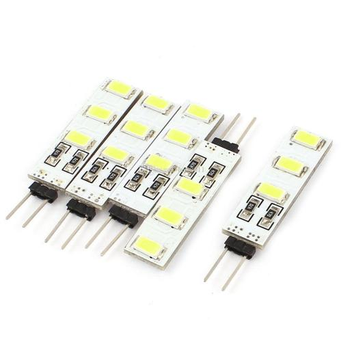 small resolution of  6led led lamp g4 5630 corn bulb 5630 msd dc 12v 1w super bright mini candle