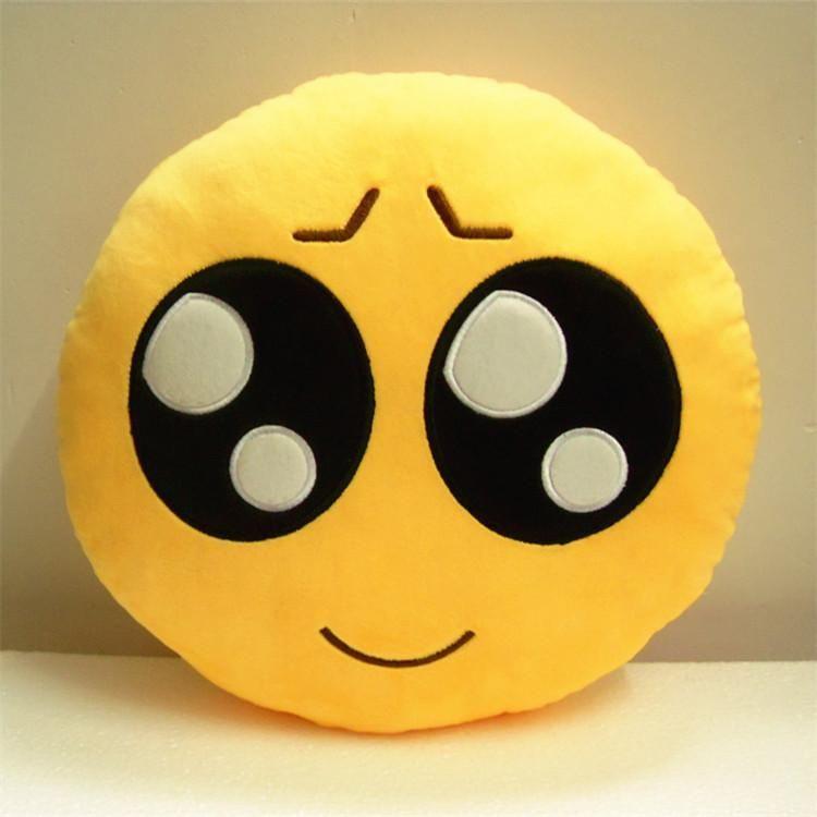 sofa replacement cushion covers john lewis 28 styles soft emoji smiley pillows cushions toys plush ...