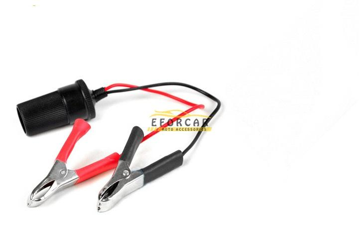 2pcs 100A Red Black Battery Insulated Test Clips Alligator Clamps Clip for Car