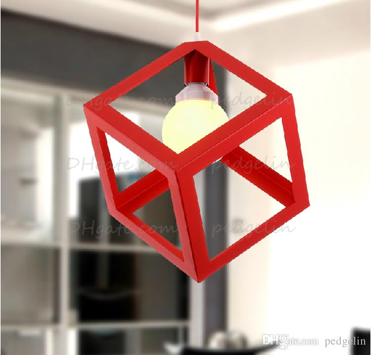 Cage Pendant Light Fixture