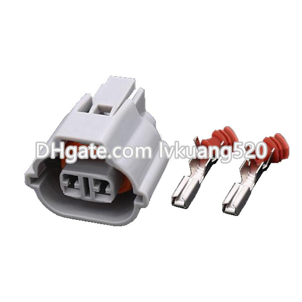medium resolution of  2 pin automotive wiring harness connector plug connector with terminal dj7027a 2 2 21