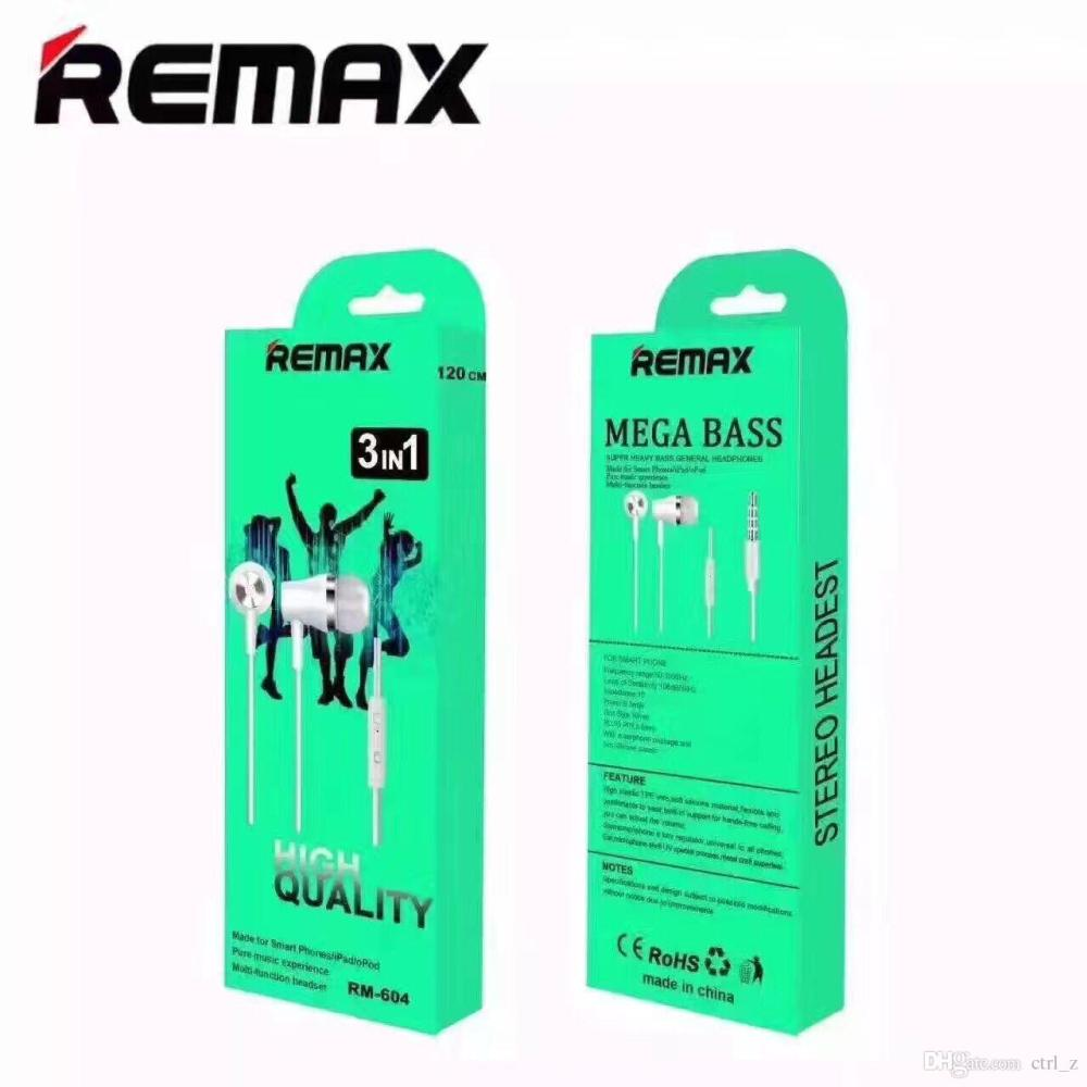 medium resolution of remax rm 603 604 3 5mm stereo earphone pure music handfree wired headset earphone wires
