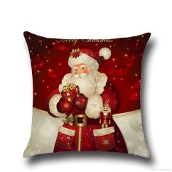 Christmas Chair Covers The Range For Sale Uk Pillow Cushions Printed Merry Office Sofa Home Textiles Pillowcase Without Core