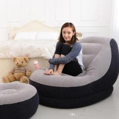 Inflatable Chair Stool Norwalk Sofa And Austin Set Living Room Furniture With Ottoman Relax Foot Seat Creative Flocking
