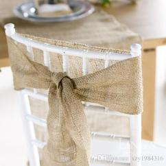 Chair Covers And Bows Ebay How To Make Sex Hot Sale Vintage Style Burlap Roll Wedding Decorations Sash 10mdiy Supplies Cheap