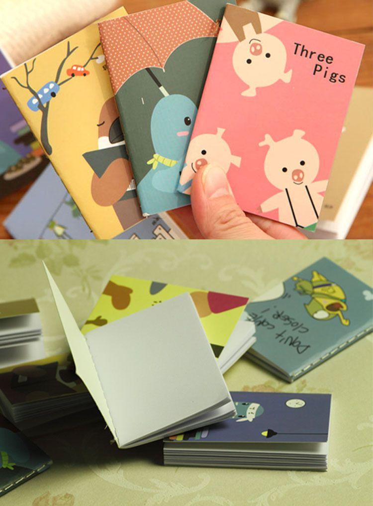 2019 New Arrival Hot Sale Cartoon Little Notebook Handy Notepad Paper Notebook Journal Diary
