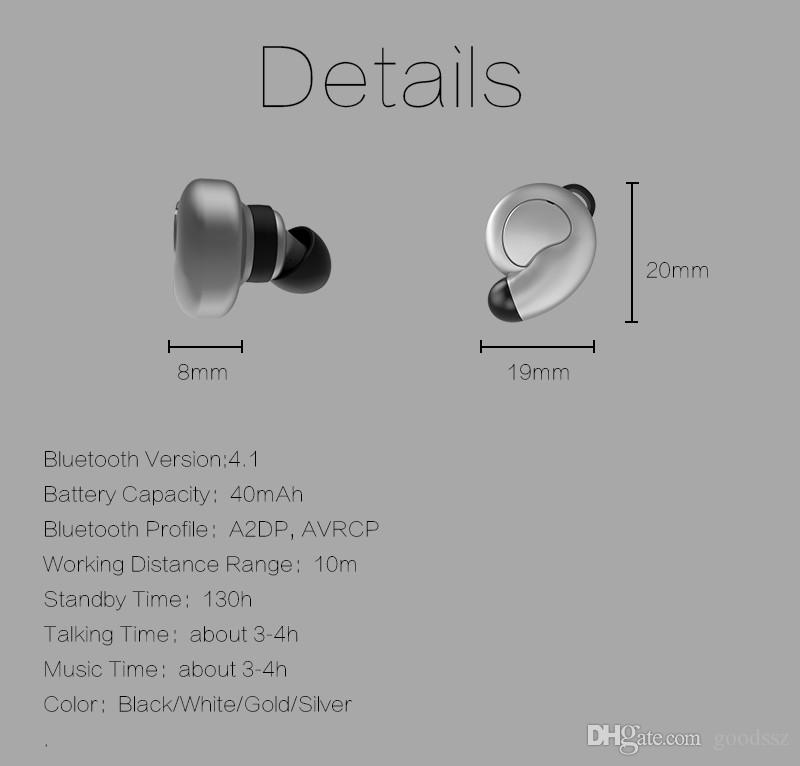 New S520 Super Snail Mini Bluetooth Earphones Wireless