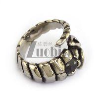 Scorpion Ring With Black Hematite Stone Unique Casting ...