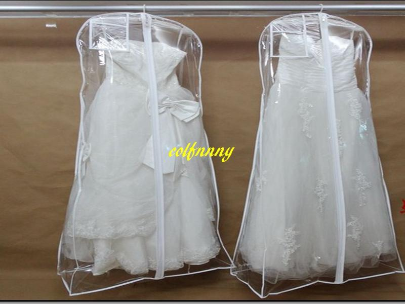 Fast Shipping Transparent Wedding Dress Dust Cover