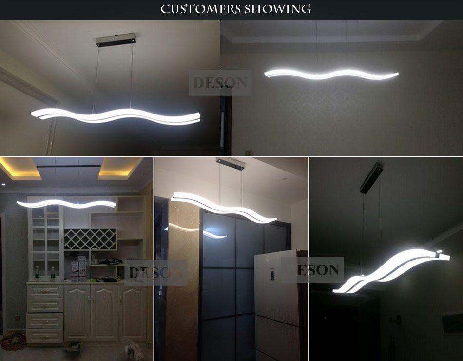 Grohandel Moderne Led Pendelleuchte Licht Kche Acryl