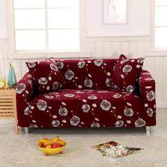 Sofa Cover Cloth Rate Swivel Chair High Quality Printed Fabric Covers Washable Stretch Material Polyester Flower Elegant Sectional