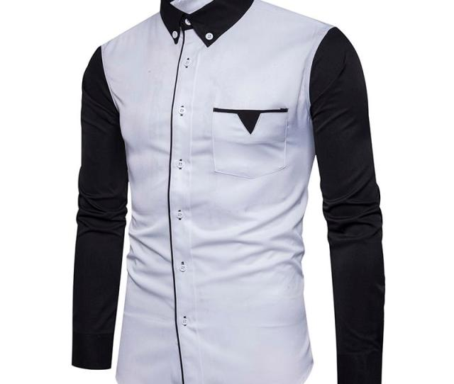 Brand Clothing  Autumn New Mens Fashion Sleeves Then Fight Unique Pocket Design Male Models Long