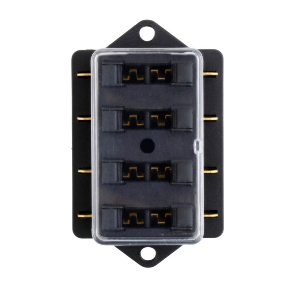 hight resolution of  4 way fuse box dc 12v 24v max dc 32v circuit car trailer auto blade fuse