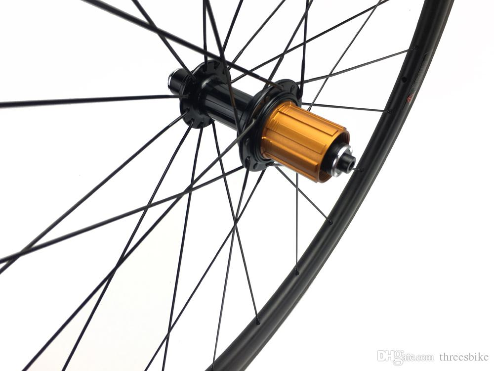700C Carbon Road Bike Wheels 38mm Clincher Bicycles T700