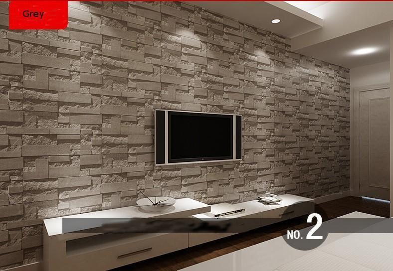 Großhandel Moderne 3D Dreidimensionale Design Tapete Rolle Stein