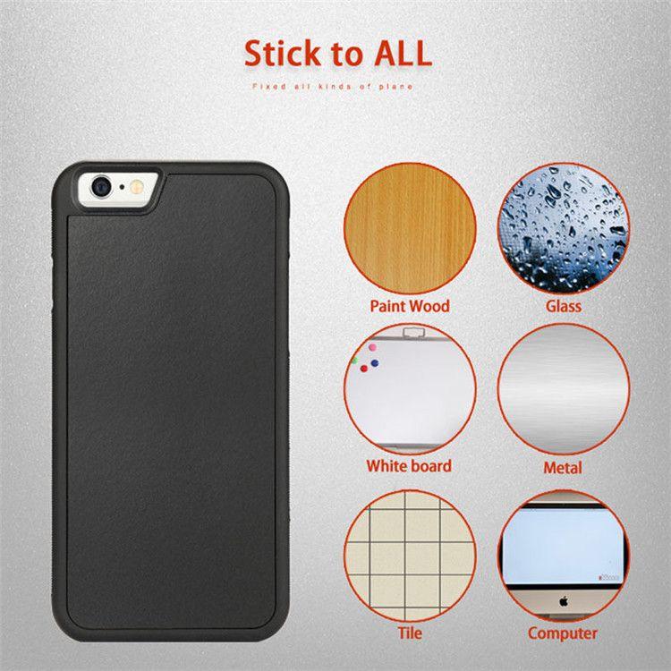 Anti Gravity Case For IPhone 7 7 Plus 6S 6 Plus 5S Galaxy S7 S6 EDGE Plus Note 4 5 7 3 Magic Sticks Anti Gravity Nano Suction Cover Cases Best ...