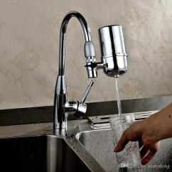 Kitchen Faucet Filter Pre Cut Granite Countertops 2019 New Faucets Tap Water Household Purifier Washable Ceramic Mini