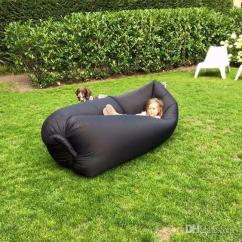 Inflatable Camping Chair Kids Folding With Canopy Wholesale Retail Fast Lamzac Hangout Sleeping Bag Sofa Air Bed Lazy
