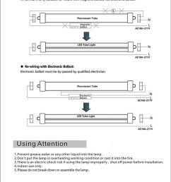 wiring 25 pack t8 led tube light 8ft 45w single pin fa8 base  [ 800 x 1084 Pixel ]