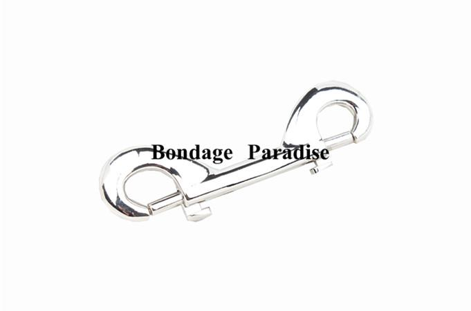 Bondage Double Ended Metal Clasp Buckle Snap Hook Trigger