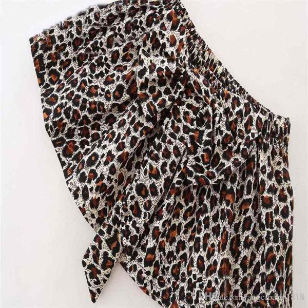 Ins Love Leopard Print Girls Baby Clothing Set Babies