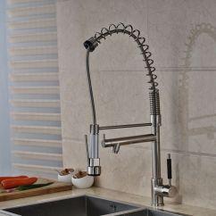 Big Kitchen Sinks Backsplash Design Ideas 2019 Sink Faucet Us Shipping Pull Down Spray Deck Mount Brushed Nickel Mixer