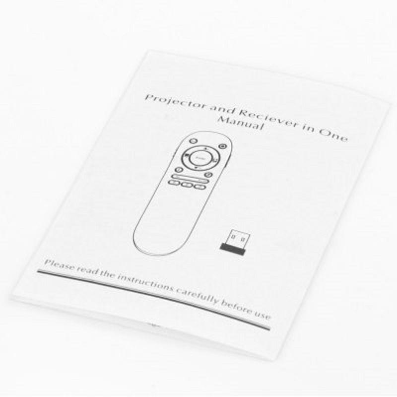 2.4GHz Wireless RF Remote Control Laser Presenter Pointer