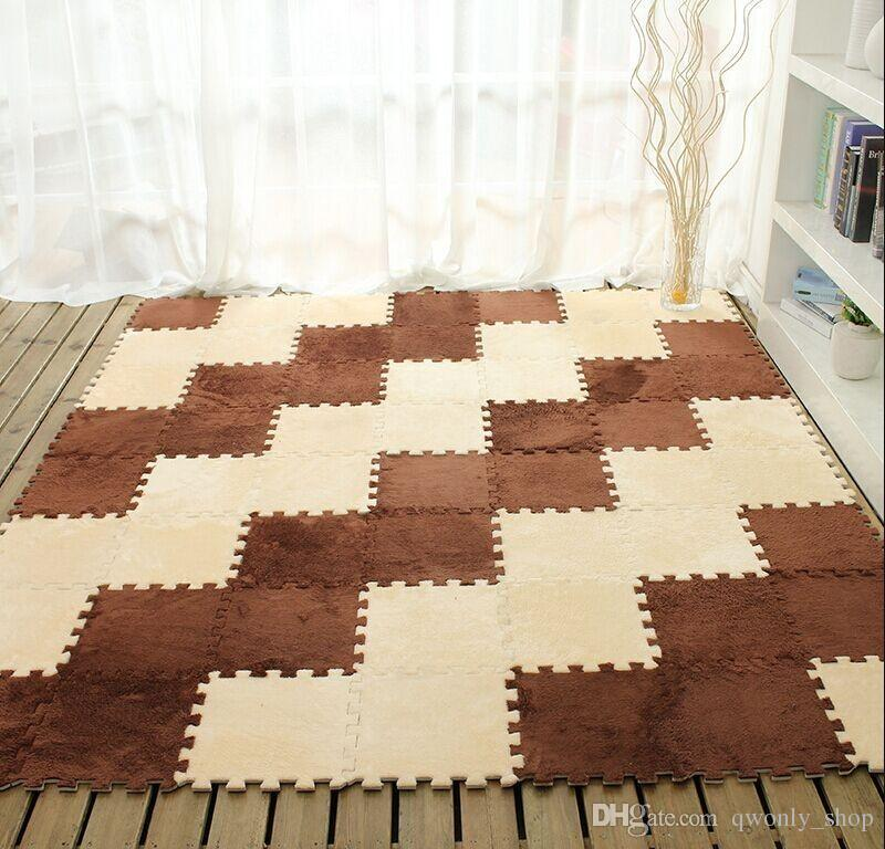 living room floor mats common paint colors long fur hair puzzle foam mat pad baby crawling cutting area rug play