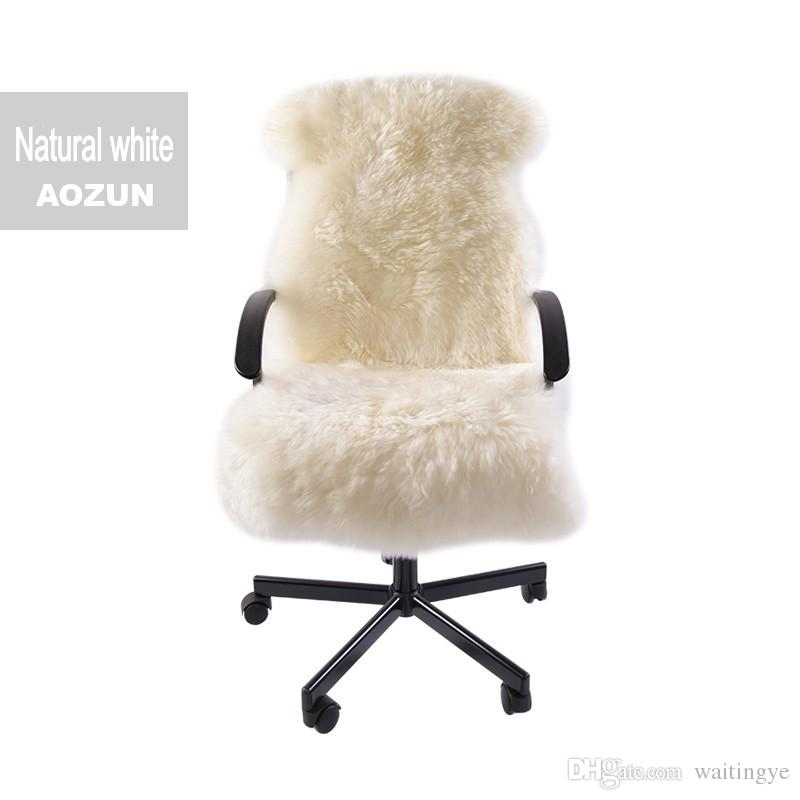 fur chair cover red outdoor rocking special for winter whole sheep cushion 1 3p 60 130cm sheepskin rug
