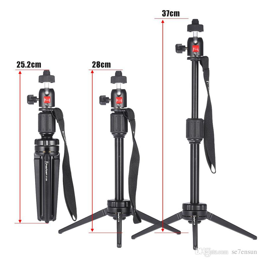 2018 Portable Aluminum Alloy Mini Video Tabletop Tripod