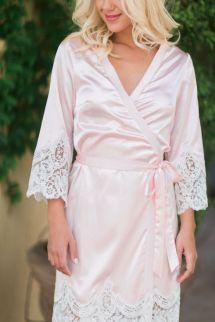2018 3 4 Long Sleeves Cheap Bridesmaid And Bride Robes