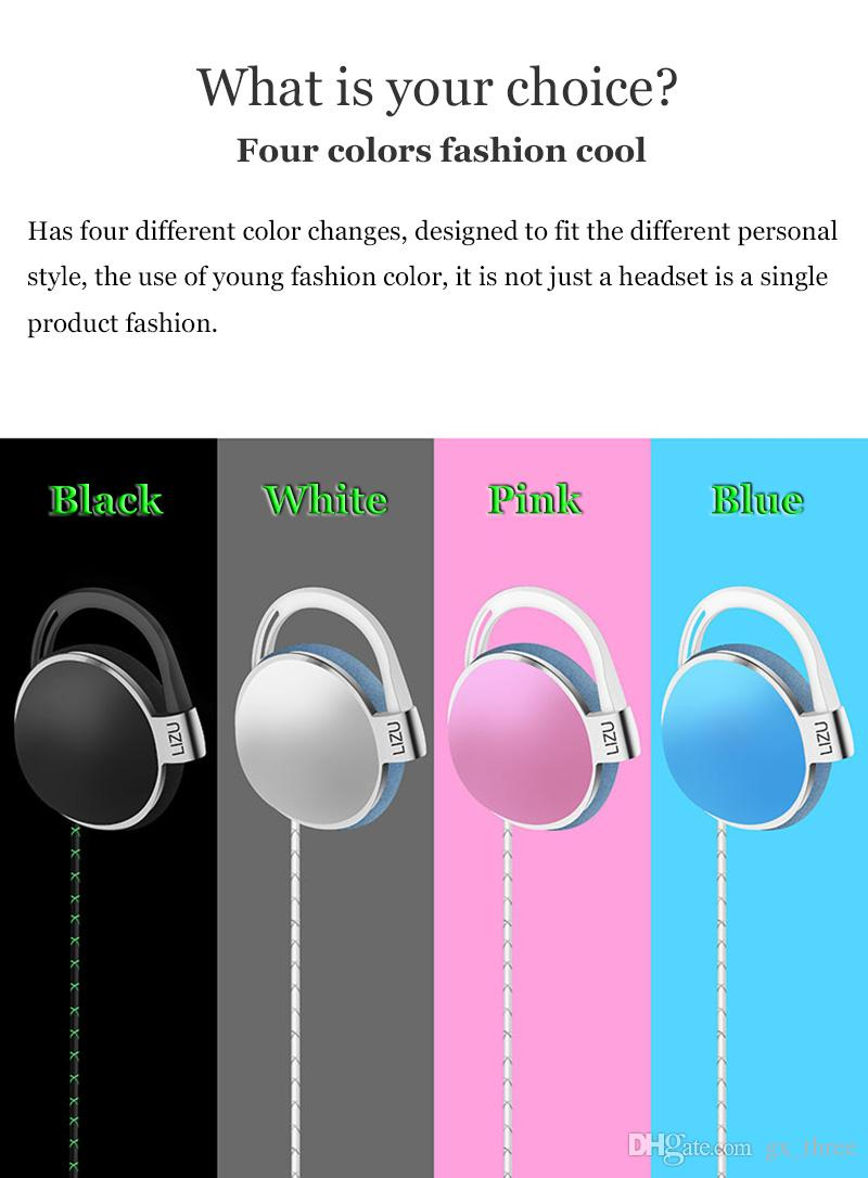 hight resolution of earphone earbuds headphones for iphone x 8 samsung s7 neckband headsets for jack in ear with