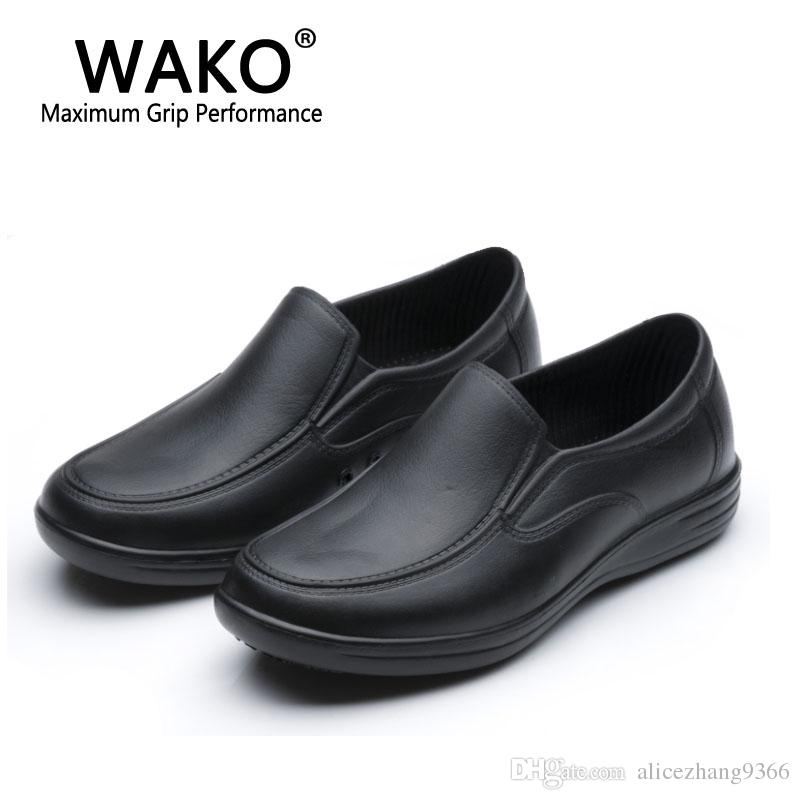 kitchen shoes womens country clocks 2019 wako 9023 men women chef safety non skidding cook sandals work clogs