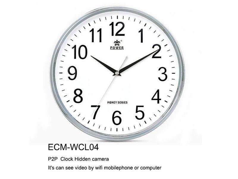 2019 Full HD 1080P Wireless Wifi Spy Camera Wall Clock