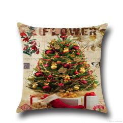 Christmas Chair Covers The Range Where Can I Buy Cane For Chairs Pillow Cushions Printed Merry Office Sofa Home Textiles Pillowcase Without Core