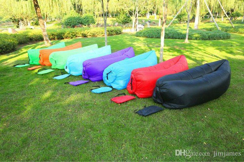 inflatable lawn chair baby cushion hangout light weight sleeping bag large bean lounge comfortable seat sofa air