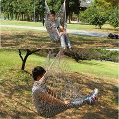 Hammock Chair Swings Height Toilet Outdoor Hanging Chairs Swing Cotton Rope Net Cradles Kids Adults Indoor