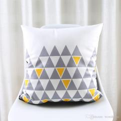 Sofa Dry Cleaning Cost Red Velvet Furniture Triangles Chevron Stripe Arrows Art Cushion Covers Nordic ...