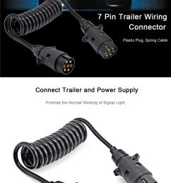 trailer wiring connector n type aluminum 7 pin t23489 plastic plug 150cm black spring extension  [ 1000 x 1539 Pixel ]