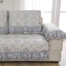 Unique Light Grey Sofa Pillow Couch Cushion Cover