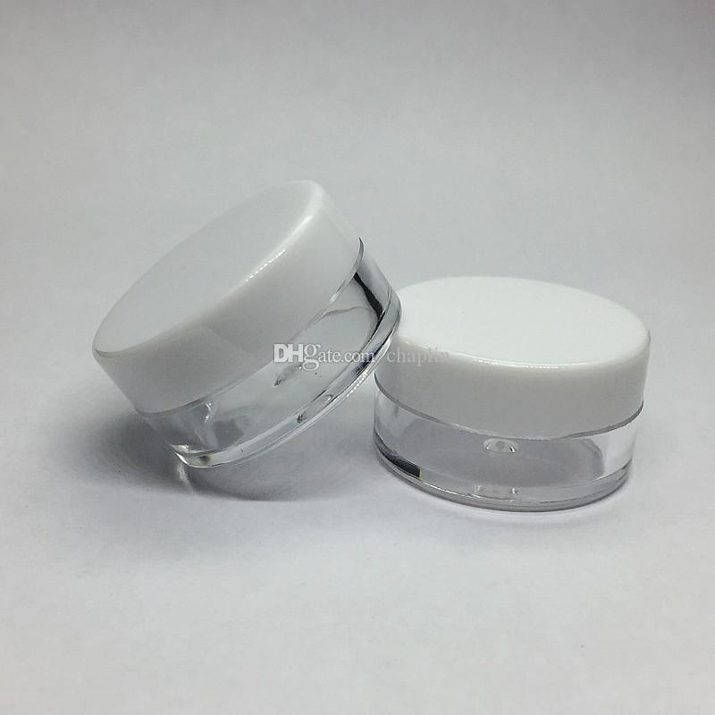 Sample Ml Lids 7 Plastic Pots