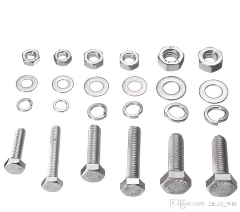 2019 XNEMON Metric Washers Nuts And Bolts Kit Hard Disk