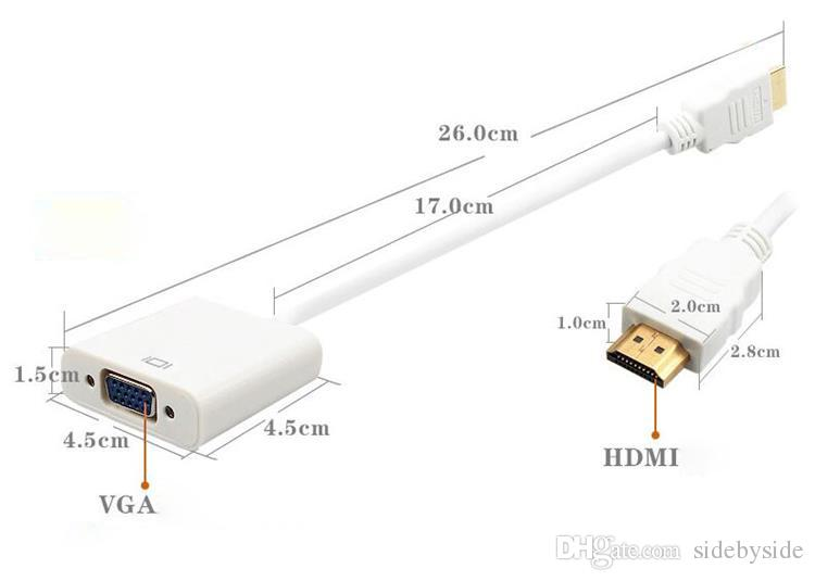HDMI To VGA Adapter Converter Adapter Cable Digital To