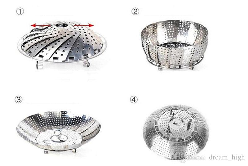 Stainless Steel Collapsible Steamer Multifunction