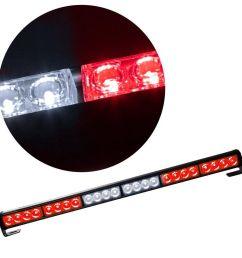 24 led hazard emergency warning tow traffic advisor flash strobe light bar  [ 1001 x 1001 Pixel ]