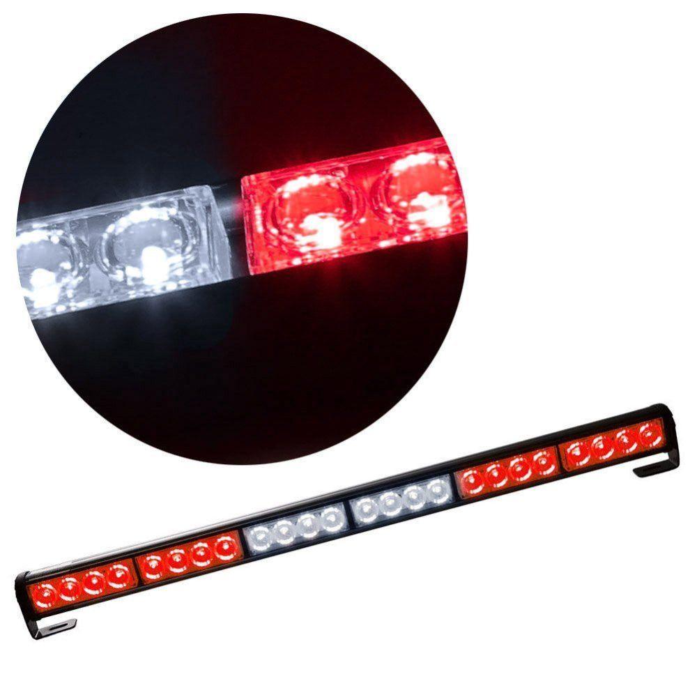medium resolution of  24 led hazard emergency warning tow traffic advisor flash strobe light bar