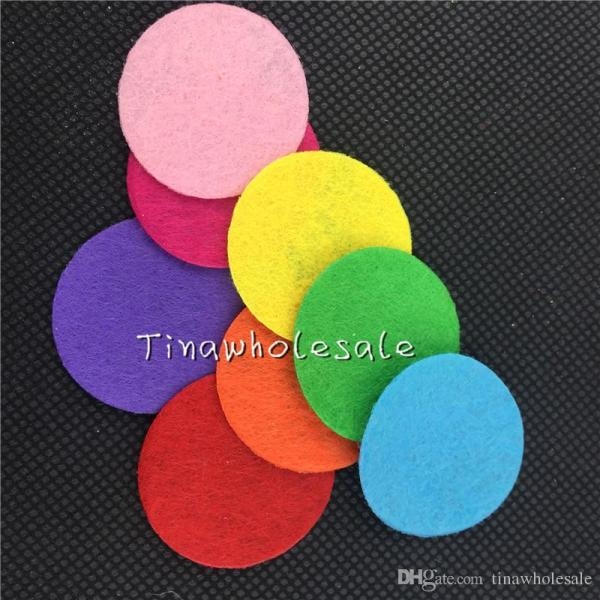 2.5cm 3cm Colorful Felt Pads Flower And Brooches