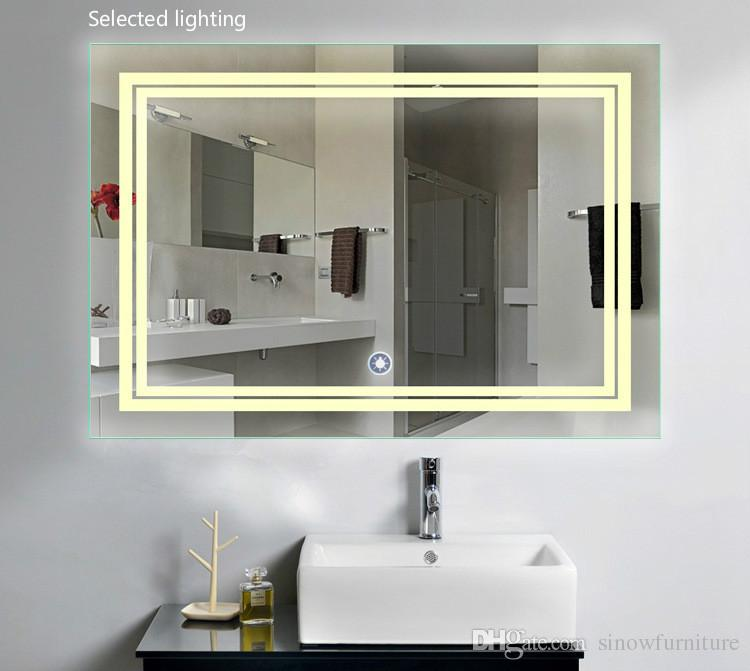 2019 LED Bathroom Mirror 24 Inch X 36 Inch  Lighted